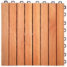 Teak Floor Tiles Outdoors by Deck Tiles The Tile Home Guide