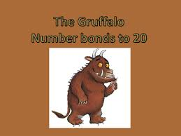 the gruffalo number bonds to 20 ppt by kayld teaching resources