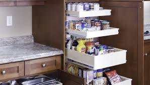 cabinet pull out shelves kitchen pantry storage pantry shelfgenie