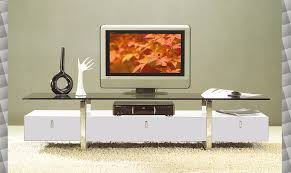 White Lacquer Credenza Living Room Tv Credenza Modern Modern Tv Stand