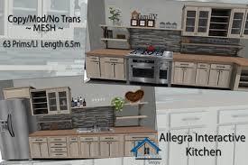 second kitchen furniture second marketplace allegra kitchen