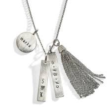 Sterling Silver Personalized Necklaces 242 Best Personalized Jewelry Images On Pinterest Personalized