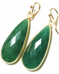 emerald earrings savings on green emerald earrings precious emerald teardrop