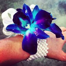 blue orchid corsage 26 best flower power images on blue orchids flower
