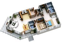 3d Floor Plan Design Interactive 6 Peaceful Design 3d Plans Modern Home Design 3d Two Floors