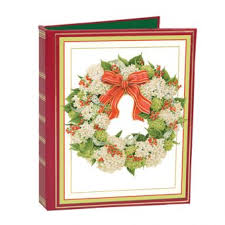 christmas card address books featured home u0026 gifts caspari