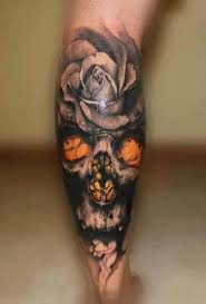 calf 3d skull with ideas designs