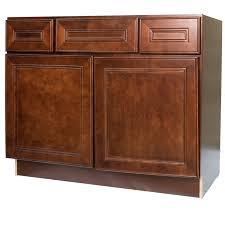 42 inch cherry mahogany leo saddle bathroom vanity cabinet