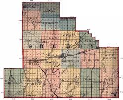 Shelby County Zip Code Map by Index Of Maps Illinois Il1875