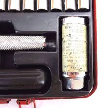 vintage powermaster socket wrench set 4860 1 4 and 3 8 40 pc 1974