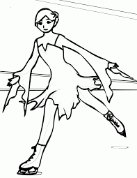olympic figure skating coloring pages coloring page coloring home