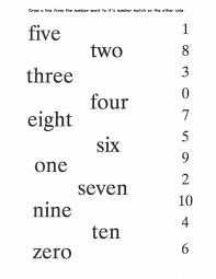 Number Worksheets Kids Make Number Words Worksheet Set Arabic Playground Spelling