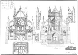 Medieval Cathedral Floor Plan Washington National Cathedral Collection At The National Building