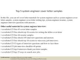 Systems Engineer Resume Sample by Top 5 System Engineer Cover Letter Samples 1 638 Jpg Cb U003d1434615085