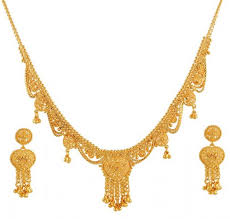 gold jewelry designs necklace images The bridal gold necklace designs photos and videos jewellery world jpg