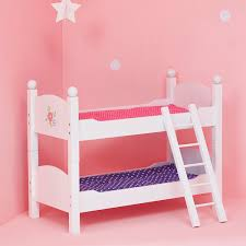 Double Deck Bed Designs Pink Amazon Com Olivia U0027s Little World Princess Double Bunk Bed