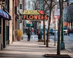 flower shops in chicago neon sign lasalle flower shop 731 la salle drive flickr