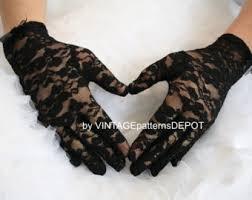 lace accessories black lace etsy