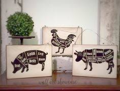 french country signs french country farm animal signs made of