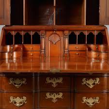 Chippendale Secretary Desk by Chippendale Blocked Front Secretary Jeffrey Tillou Antiques