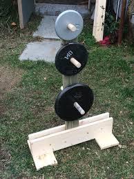 wall storage plate holder weight rack gym and garage gym