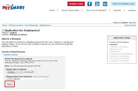 How To Apply Resume For Job by How To Apply For Petsmart Jobs Online At Careers Petsmart Com
