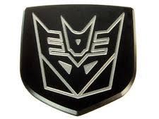 custom dodge ram badges decepticon emblem ebay