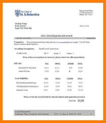 scholarship cover letter sample sample scholarship award letter