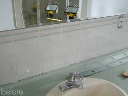 Paint Over Bathroom Tile How To Paint Over Dated Ceramic Tile Dans Le Lakehouse