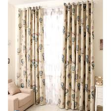 Mediterranean Style Insulated Room Darkening Kids Room Curtains - Room darkening curtains for kids
