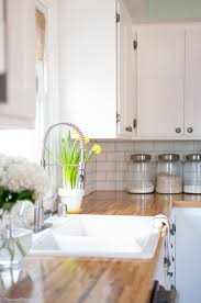 Spring Home Tips Tips For A Budget Friendly Kitchen Makeover From Cherished Bliss