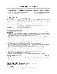 Sample Resume Of Experienced Software Engineer Sample Resumes For Preschool Teachers Sample Resume For Preschool