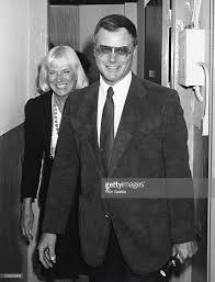 larry hagman and maj hagman during 42nd street at winter garden in picture id105830948