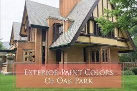 historic paint colors in frank lloyd wright u0027s oak park