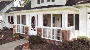 Patio Enclosure Kit by Back And Front Porch Enclosure Ideas