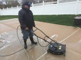 Cleaning Patio With Pressure Washer Driveway U0026 Concrete Cleaning In St Charles U0026 St Louis