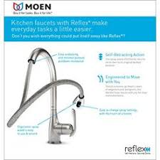 single handle moen kitchen faucet single handle kitchen faucets sears