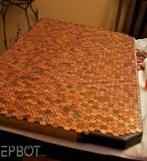 kitchen design copper penny backsplash panel photo how to make