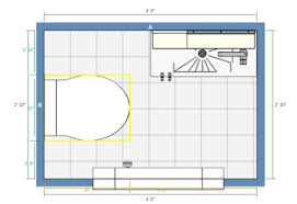 powder room floor plans can you put a powder room in a 3x4 foot space
