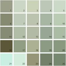 benjamin moore green house paint colors palette 15 paint the