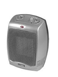 Small Electric Heaters For Bathrooms Lasko Electric Ceramic 1500w Heater Silver Black 754200
