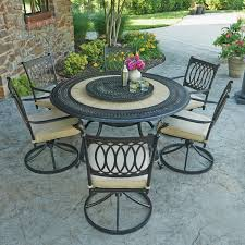 Madison Outdoor Furniture by Member U0027s Mark Madison 8 Piece Dining Set With Premium Sunbrella
