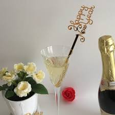 new year u0027s eve centerpiece stick 2018 happy new year drink