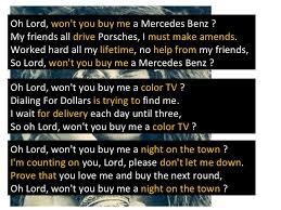 lord won t you buy me a mercedes janis joplin