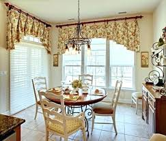 Dining Room Valance Curtains Valances For Dining Room Tailored Balloon Curtain Valances For