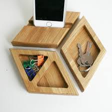 Office Desk Tidy Wood Desk Organiser Oak Desk Tidy Office Desk
