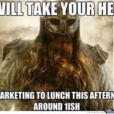 Viking Meme - misunderstood corporate viking by kainbeyne meme center