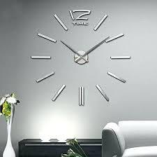 wall clock modern modern wall clock whiteout red circle clock modern minimalist white