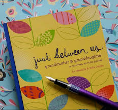 writing paper with space for picture the papery a journal to be shared between a grandmother and a granddaughter with writing prompts and