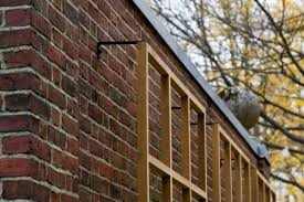 wall trellis design anchoring trellis to brick wall outside dreaming pinterest